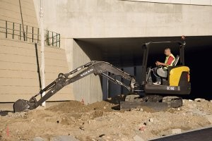 Compact excavators from Volvo Construction Equipment offer big performance in a smaller size
