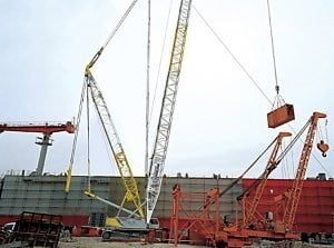 Global Crane Sales Expands Crawler Line With the Launch of the QUY350
