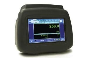 Portable ultrasonic flow and heat meter