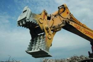 High Five series concrete pulverizer
