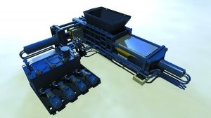 92-ton baling press