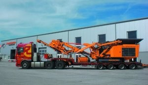 R700S mobile impact crusher