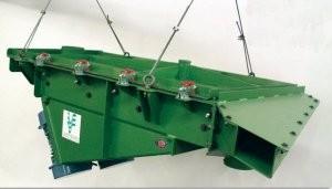 Electro-mechanical ball tray deck screener