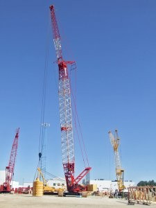 Fixed jib now available for Manitowoc 16000 crawler crane