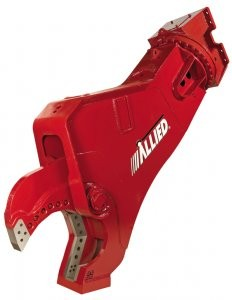 Allied's all-new AMS Series Mobile Shears pack up to 1,446 tons of cutting force