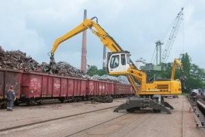 Liebherr A934 HD ERC and LH 60 M scrap handlers
