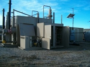 Dehydrator retrofit captures emissions