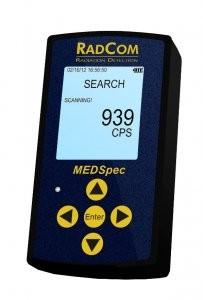 MedSpec handheld radiation detector