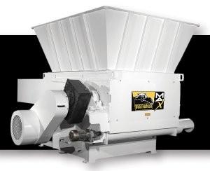 Destroyer-Max drive system increases shredder/grinder throughput