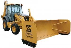 New attachment for Bonnell's Push 'n Plow product line