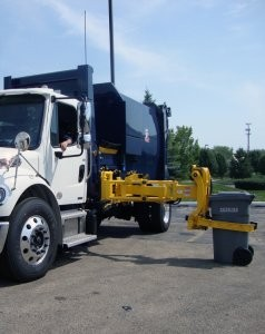 Automated Side Loader for residential pick up
