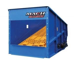 Machinex MACH Ballistic separator designed for 2D and 3D materials
