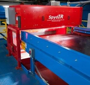 NRT SpydIR sorter designed for 1-7 plastics