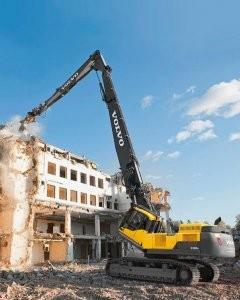 High-reach excavators