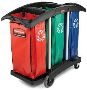 Triple capacity cart