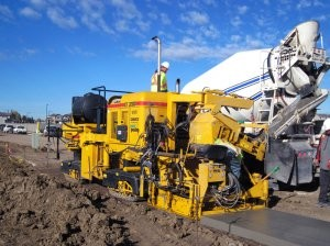GOMACO introduces the new GT-3200 zero-clearance sidewalk paver specifically for rehabilitation projects