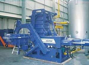 Aerosol can processor / de-packaging densifier