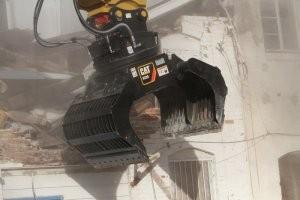Cat Demolition & Sorting Grapples