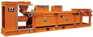 ProSort II airless metal recovery system uses 75 percent less energy than an air-driven sorter