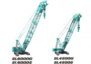 Kobelco Cranes launches new crawler cranes: SL6000G/SL4500G and SL6000S/SL4500S