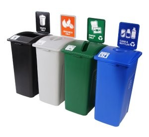 New recycling bin makes it easy to increase collection capacities