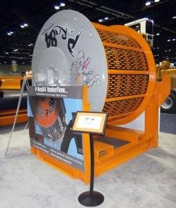 P-Rex84 Scrap Drum with Underflow Processing System