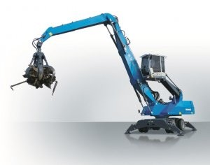 MHL340 E material handler features more powerful engine with lower fuel consumption