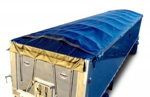 Electric Side Roll provides load security for waste haulers