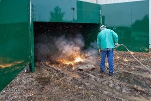 Scrap torching solution