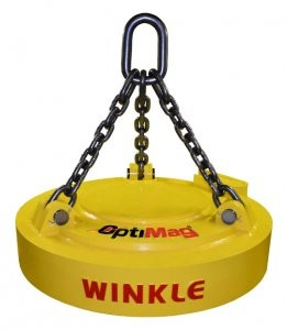 Winkle launches OptiMag brand for entire line of lifting magnets