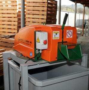 Revamped scrap chopper ideal for recycling plastic and PET banding