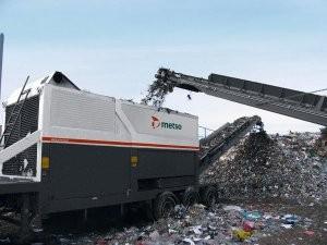 M&J Eta PreShred 4000 shredder designed for highly variable infeed