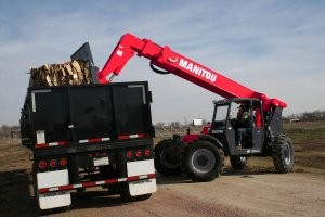 Telescopic handler equipped  with new Tier IV engine