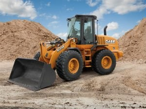 New Case 521F wheel loader achieves advanced performance, fuel efficiency with new features and SCR emissions technology