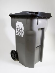 RFID-compatible Bear Cart keeps materials protected