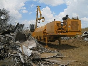MAC MAGNUM Logger/Baler ideal for auto and scrapyards