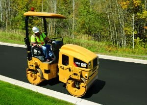 Cat® Utility Compactors Feature Improved Visibility and Lower Fuel Consumption