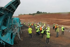 Powerscreen debuts new machines at International Open Day in the UK