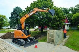 Case Introduces New CX75C SR And CX80C Mid-Sized Excavators For Greater Strength And Efficiency