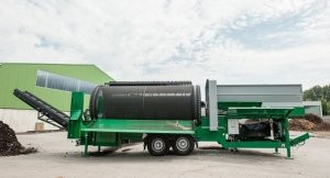 NEMUS 2700 Screen is an updated hydraulic trommel