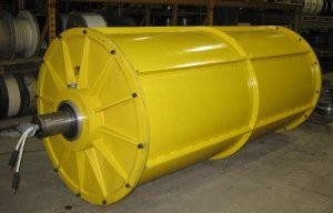 Magnetic drums suitable for range of recycle applications
