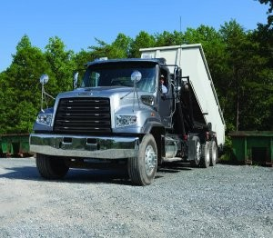 Freightliner 114SD upfitted to roll-off
