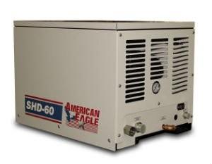 American Eagle Updates SHD-60 Hydraulic Drive Air Compressor