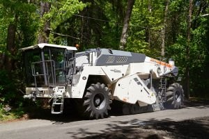 New Wirtgen WR 240i  Sets High Standards for Recycling, Stabilization