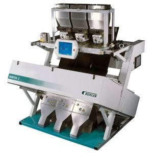 SORTEX Z+ bichromatic optical colour sorter central to turnkey solution for rigid PVC recycling
