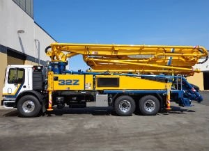 Putzmeister America, Inc. Introduces New  32Z-Meter Truck-Mounted Concrete Boom Pump