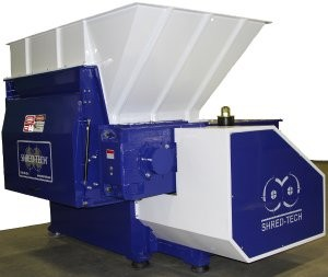 Shred-Tech introduces STS Lineup Of Stationary Single Rotor Screened Shredders