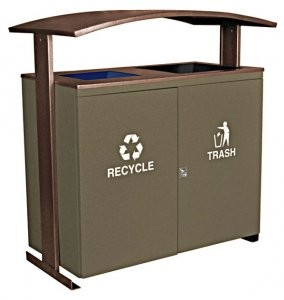 Ellipse Collection 2-stream receptacles