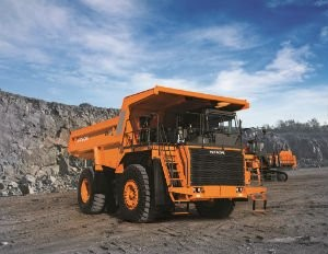 Hitachi Construction Machinery introduced the EH1100-5 Rigid Frame Dump Truck at CONEXPO