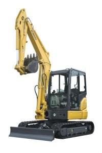 KOBELCO Unleashes SK55SRx Excavator at ConExpo 2014